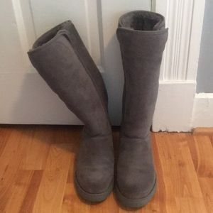 Ugg Tall Wedge Boots